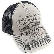 Boné Fender Trucker Logo Strato