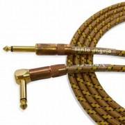 Cabo P10 para instrumento Santo Angelo Vintage L 15FT Têxtil 4,57m