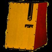 Cajon Standard Inclinado Com Captação Dupla Fs2503 Fsa - Mogno