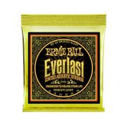 ENCORDOAMENTO VIOLÃO AÇO ERNIE BALL EVERLAST COATED MEDIUM LIGHT 0.12