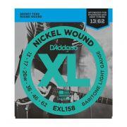 Encordoamento D'addario Para Guitarra EXL158 013/62