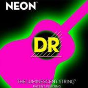 Encordoamento Dr Neon Pink Violão Aço .010/.048
