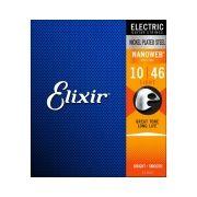 Encordoamento Elixir Nanoweb 12052 Guitarra 0.10