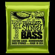 Encordoamento Ernie Ball 050-105 P/ Baixo 4 Cordas Regular Slinky Niquel 2832