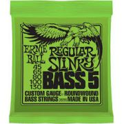 Encordoamento Ernie Ball 0.45 5 cordas
