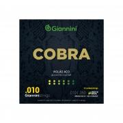 Encordoamento Giannini Cobra Violao 12 Cordas (0.10) GEEF12M Bronze