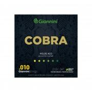 Encordoamento Giannini Cobra Violão Aço .010