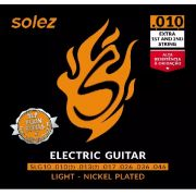Encordoamento Guitarra .010 Solez (extra 1st and 2nd string)