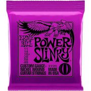 Encordoamento Guitarra Ernie Ball 0.11Power Slinky 2220