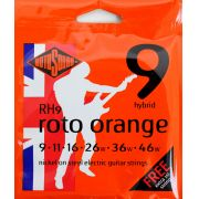 Encordoamento Guitarra Rotosound Roto Orange - Rh9