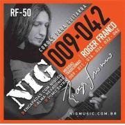 Encordoamento Nig Roger Franco para Guitarra 0.09
