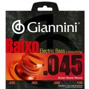 Encordoamento Para Contrabaixo 0.45 Giannini 4 cordas