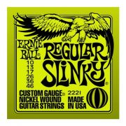 Encordoamento para Guitarra Ernie Ball 0,10 2221