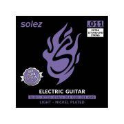 Encordoamento Solez 0.11 Para Guitarra