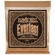 Encordoamento Violão Aço Ernie Ball Everlast Phosphor Bronze 0.11