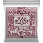 Encordoamento Violão Nylon Ernie Ball Ernesto Palla Classical 2409 Dourado / Preto - Ball End