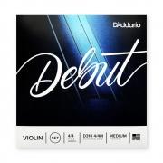 Encordoamento Violino Daddario Debut D310 4/4M MEDIUM