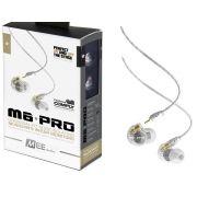 Fone de Ouvido Mee Audio M6 Pro Clear In Ear com Cabo Destacável, Bag e Diversos Plugs