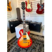 Guitarra Epiphone Les Paul Standard Plus Top Pro Heritage Cherry Sunburst Usada Com Case
