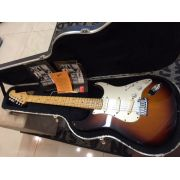 Guitarra Fender® American Series 50th Anniversary Stratocaster® Todos os Tags e case original.