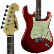Guitarra Tagima Memphis Mg 32 Vermelho Metálico Strato