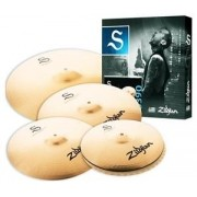 KIT DE PRATOS ZILDJIAN S FAMILY - S390 - 14HH+16CRASH+18CRASH+20RIDE