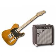 Kit Fender Squier Telecaster + Amplificador Fender Frontman 10W