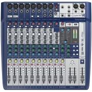 MESA DE SOM SOUNDCRAFT SIGNATURE 12 COM EFEITOS E INTERFACE USB