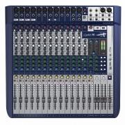 MESA DE SOM SOUNDCRAFT SIGNATURE 16 COM EFEITOS E INTERFACE USB