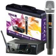 Microfone Sem Fio Vokal Vms 10 De Mao
