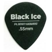 Kit 3 Palhetas Daddario Black Ice 0.55mm