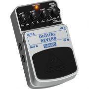 PEDAL DE EFEITO BEHRINGER DR600 DIGITAL REVERB