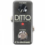 Pedal de Efeito  Pedal de Efeitos TC Electronic Ditto Looper para Guitarra