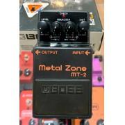 Pedal de Guitarra Boss Metal Zone MT2 (Semi-Novo)