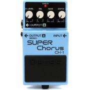 Pedal Super Chorus Para Guitarra Boss CH1