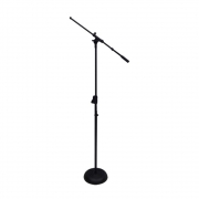 Pedestal Saty para Microfone Girafa com base de Ferro PMG-BF