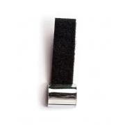 Slide Aço Ajustável Cromado Com Velcro Dunlop