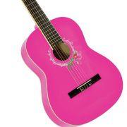 Violão Clássico Nylon Memphis Ac 39 Pink - Tagima