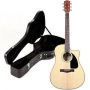 Violão Elétrico Folk Fender CD 60 CE com Hard Case.