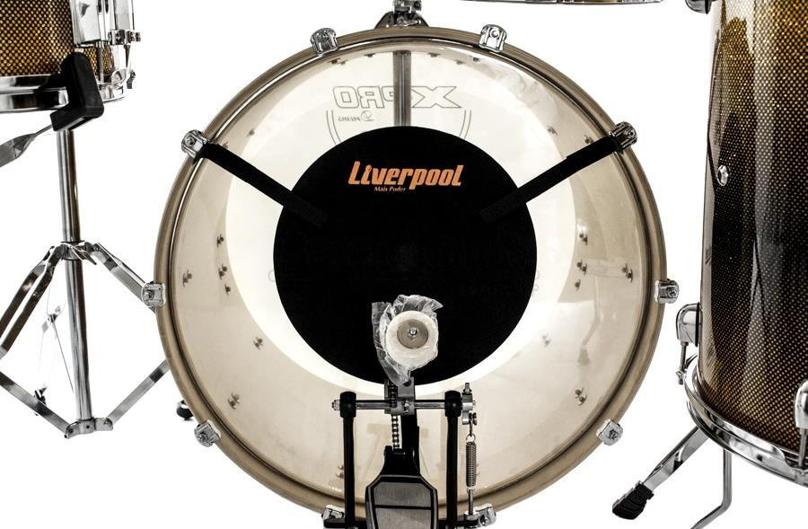 "Abafador Liverpool Bateria Tambores 10"", 12"", 14"", 16"", 22"""