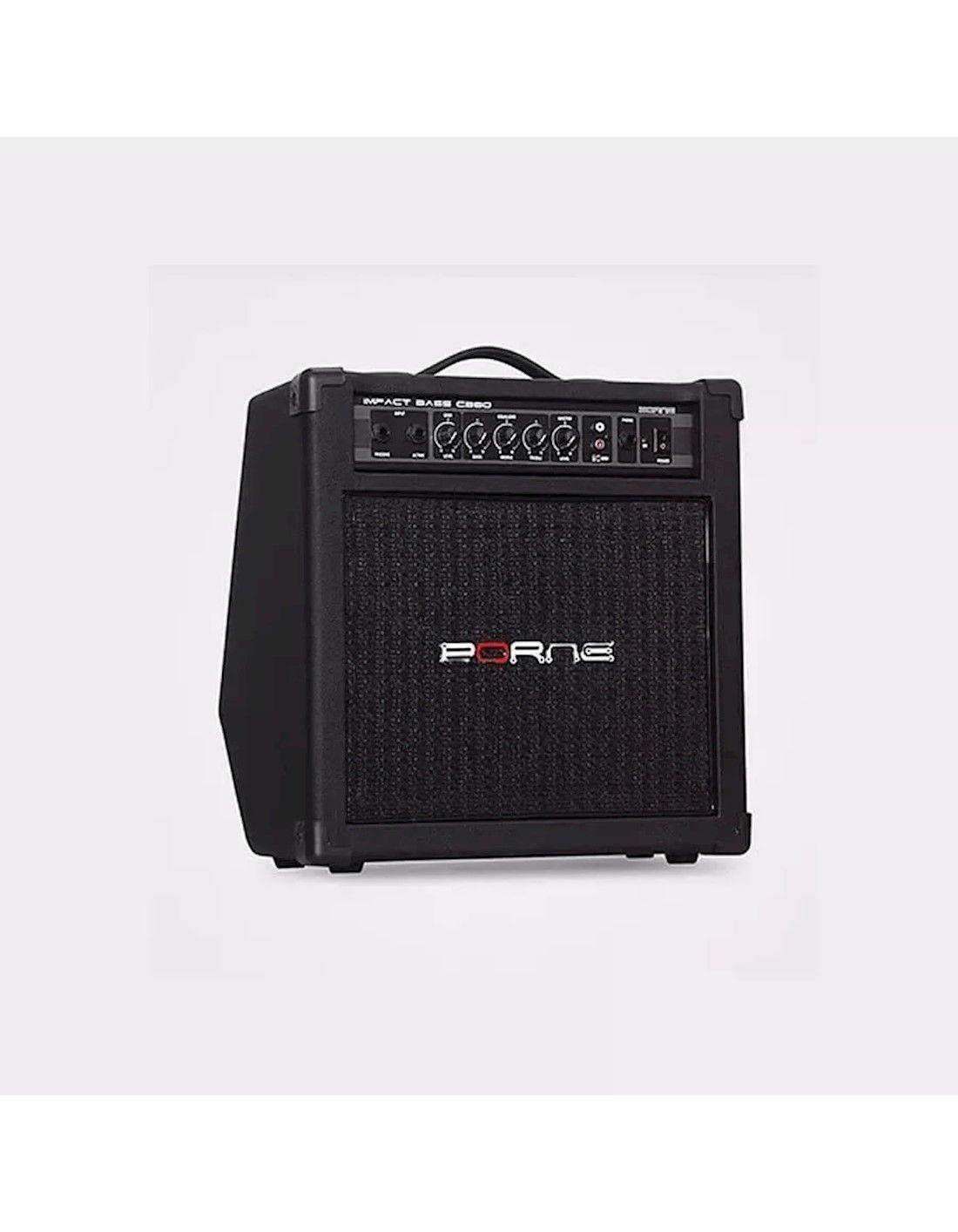 Amplificador Borne p/ Contrabaixo 30W Impact Bass CB 80
