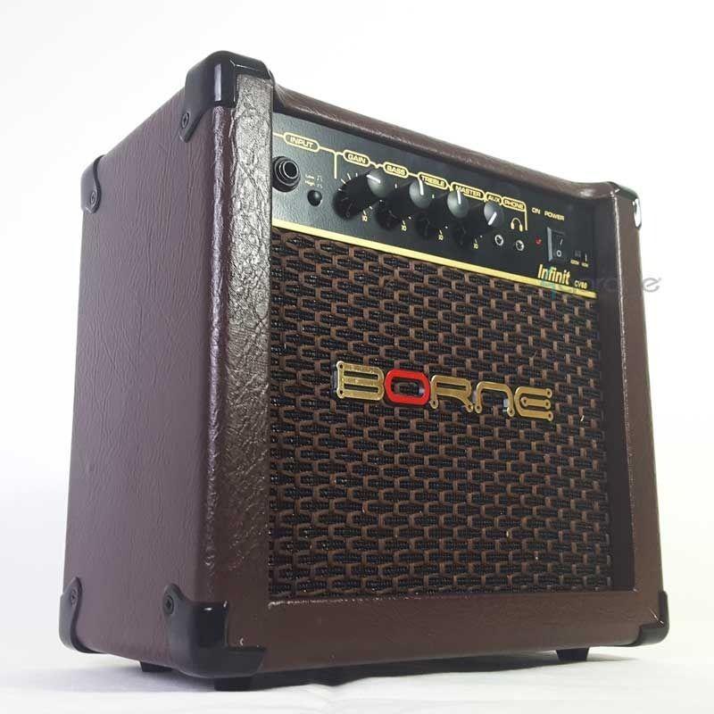 Amplificador Borne Para Violão Infinit Cv60 15w Acústico