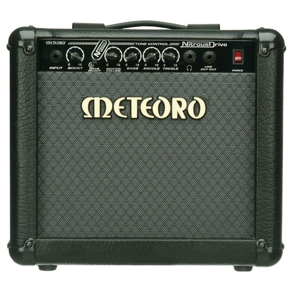 Amplificador Meteoro NITROUS DRIVE 15 W Para Guitarra
