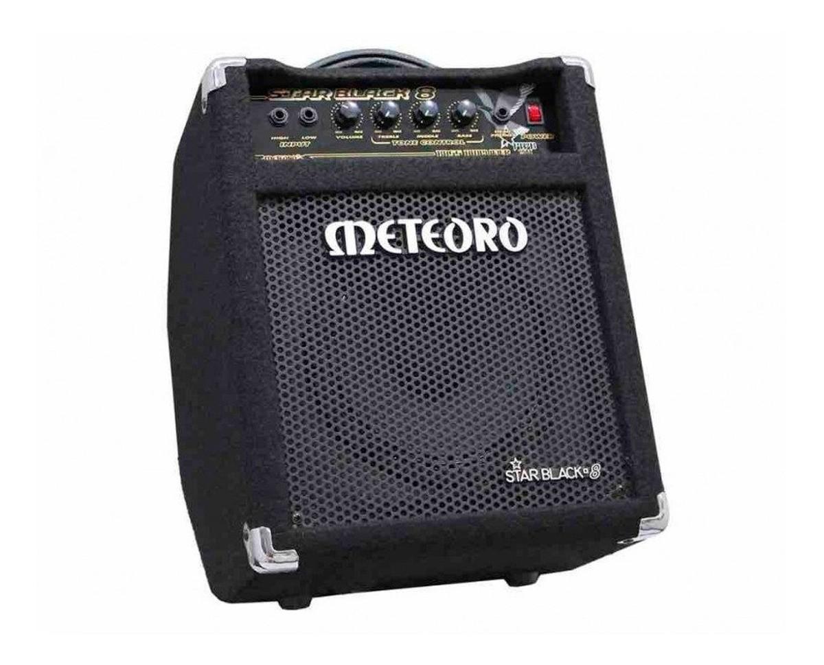 Amplificador Meteoro Star Black 8 30W Para Contra-Baixo