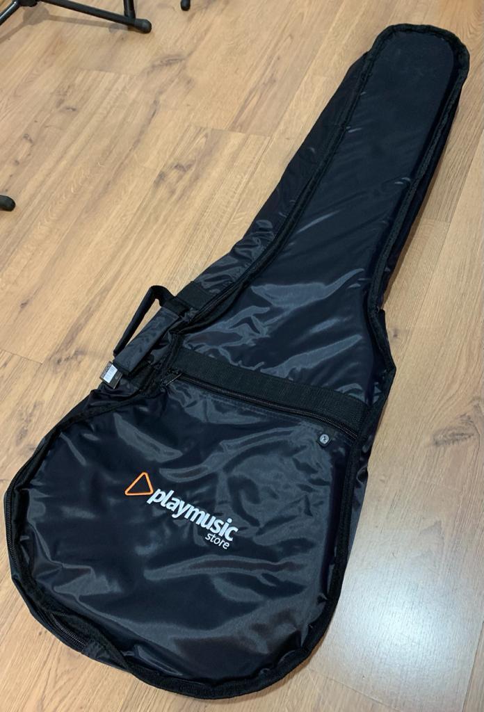 Bag Almofadada Para Violão Folk Playmusic Store