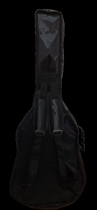 Bag Luxo Acolchoada Para Violão Folk Playmusic Store