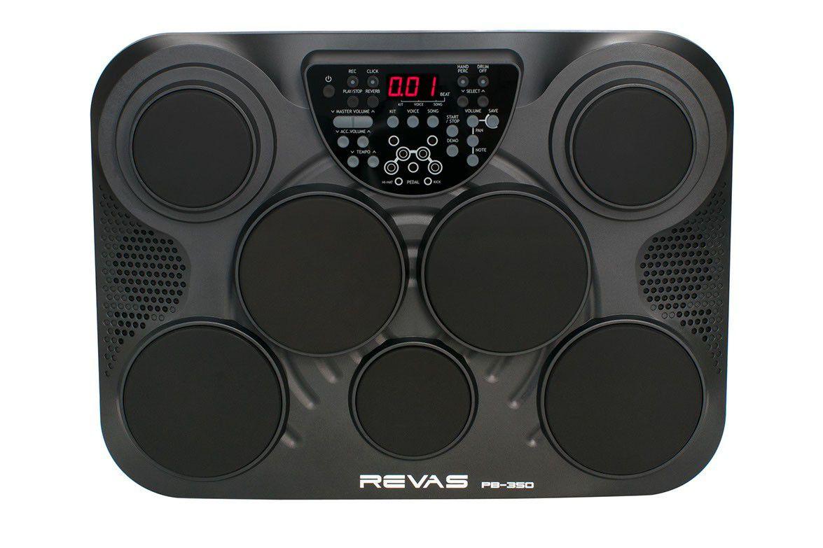 Bateria Eletrônica Revas Roland 7 Pads 2 Pedais Pb-350