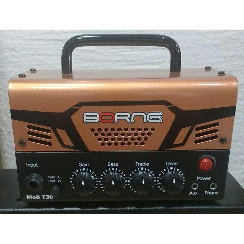Cabeçote para guitarra Borne Mob T30 Cobre