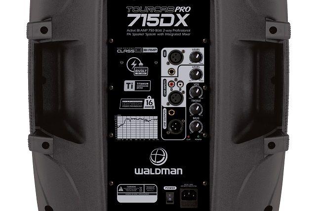 Caixa Ativa Waldman 750watts TC715DX