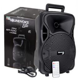 """Caixa de Som Soundvoice Lite CA80 Ativa 8"""" Com Bluetooth e USB"""